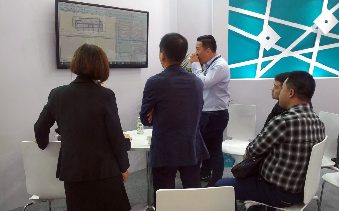 Klaes at the Fenestration Shanghai 2017 - Klaes 3D is an overall solution with know-how