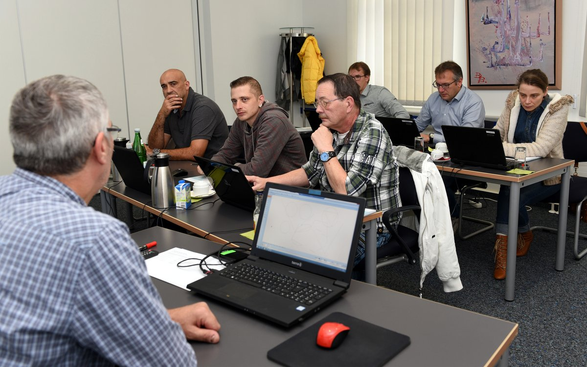 Full concentration for Klaes CAD plus with Udo Wieland