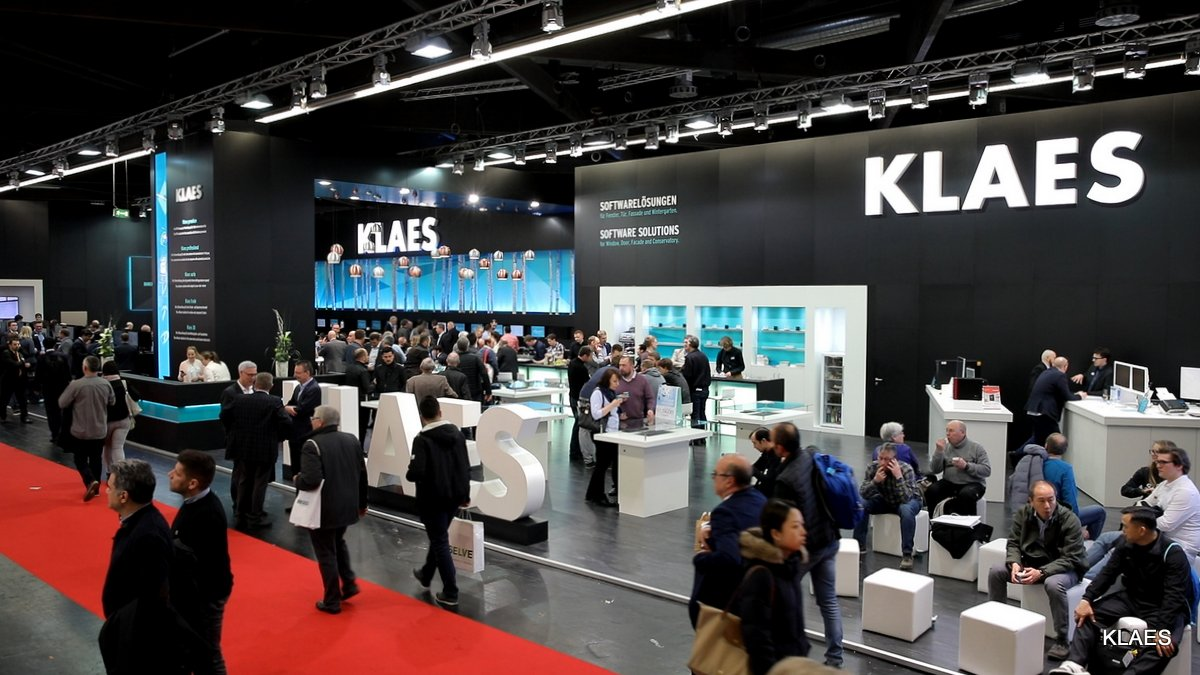 Klaes at the FENSTERBAU FRONTALE 2018 - Impression
