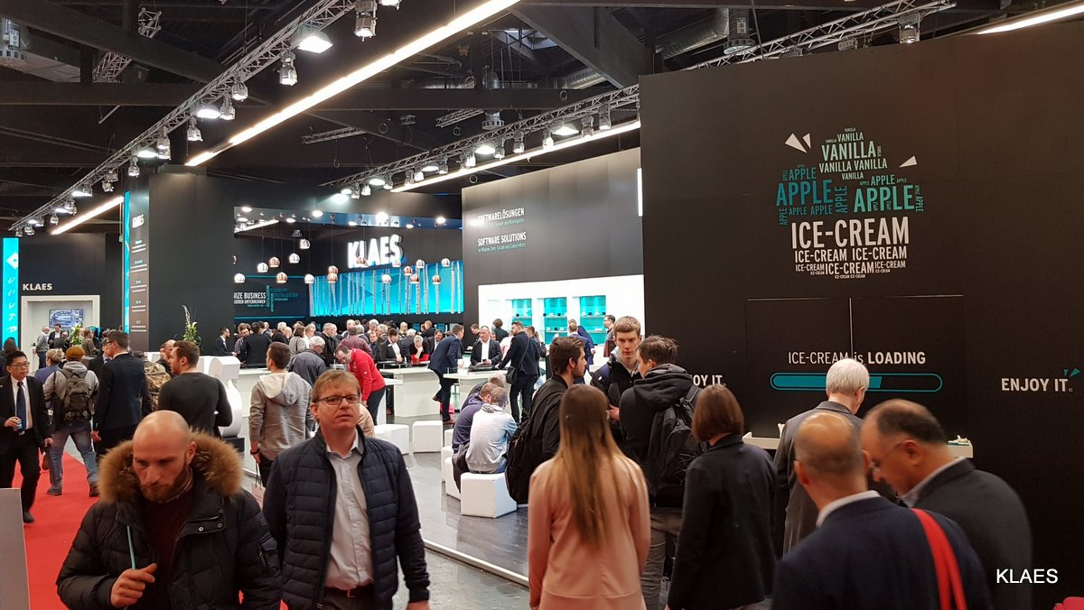 Klaes at the FENSTERBAU FRONTALE 2018