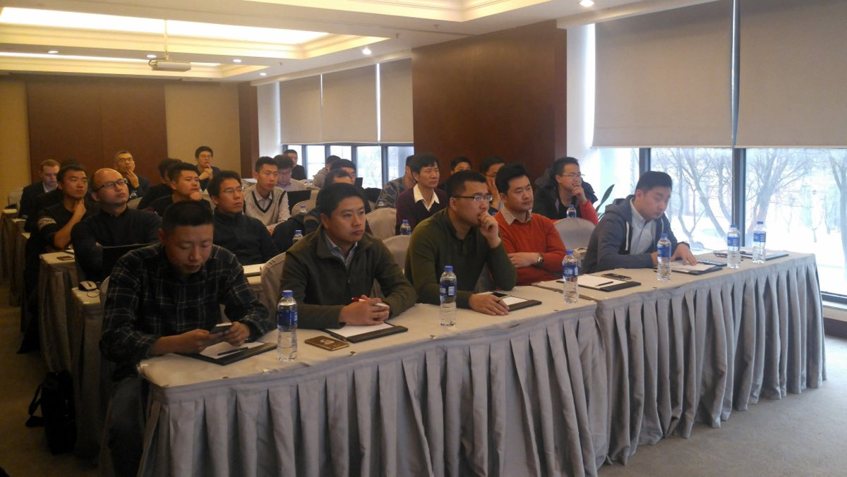 Klaes China conservatory-seminar: technical Klaes 3D training for the customers