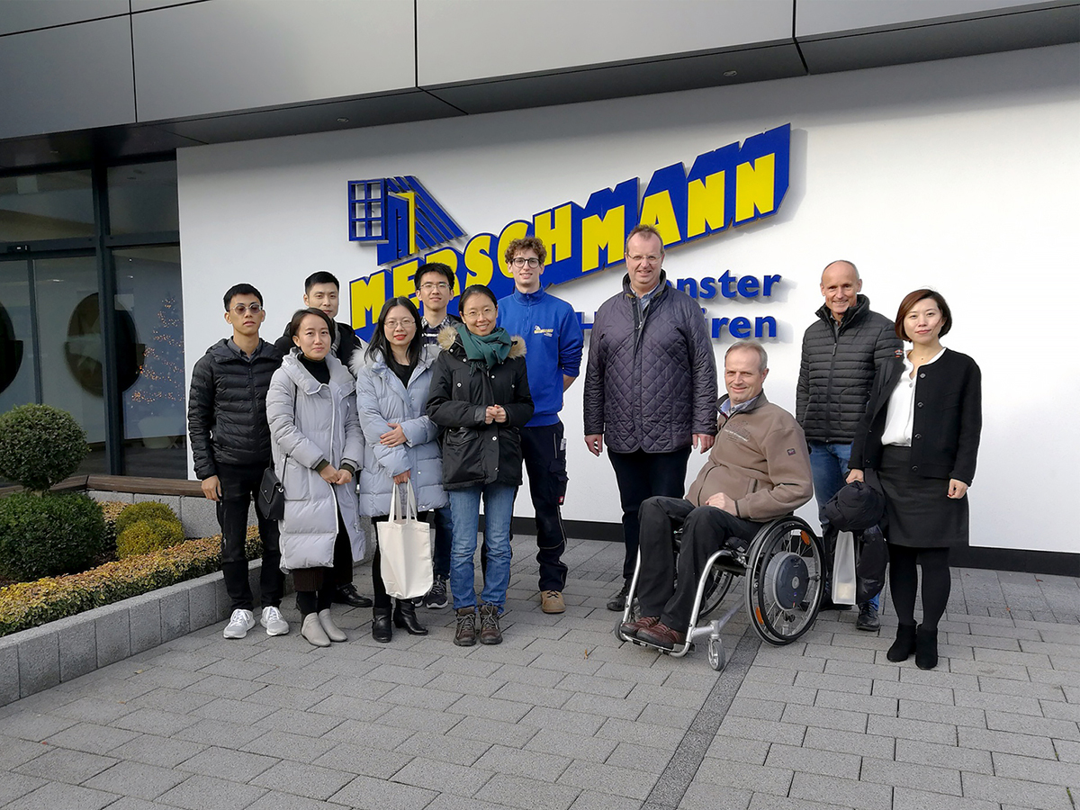 Our Chinese colleagues at Merschmann – Thank you for your hospitality!