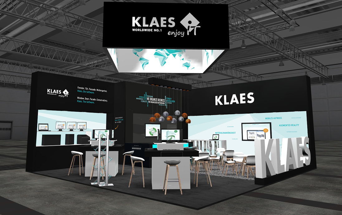 Klaes at the LIGNA in hall 27, booth D67